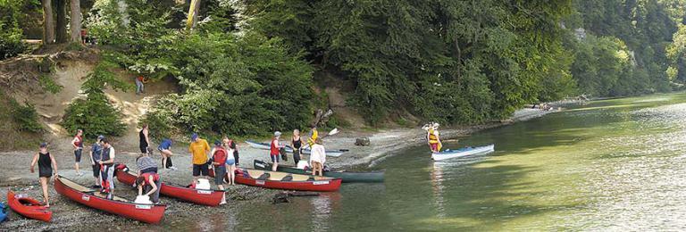 Foto: Tourist-Info Bodman - Rast vor der Marienschlucht