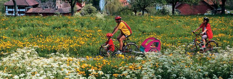 Foto: Ostschweiz Tourismus – Radler bei Hagenwil