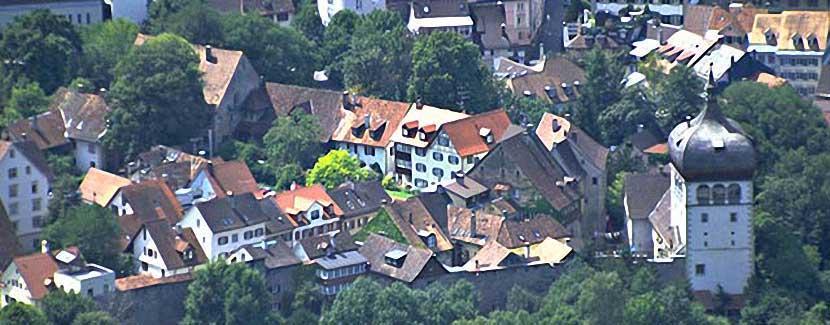 Foto: Roman Horner - Bregenzer Oberstadt mit Martinsturm