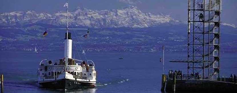 Foto: Tourist Information Friedrichshafen – Dampfschiff Hohentwiehl