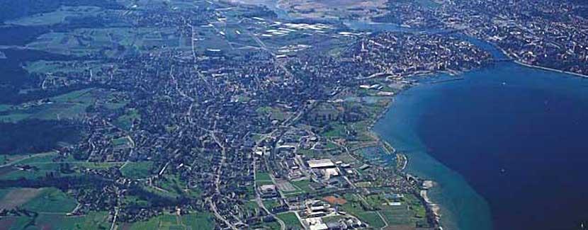 Foto: TI Kreuzlingen – Blick auf Kreuzlingen und Konstanz
