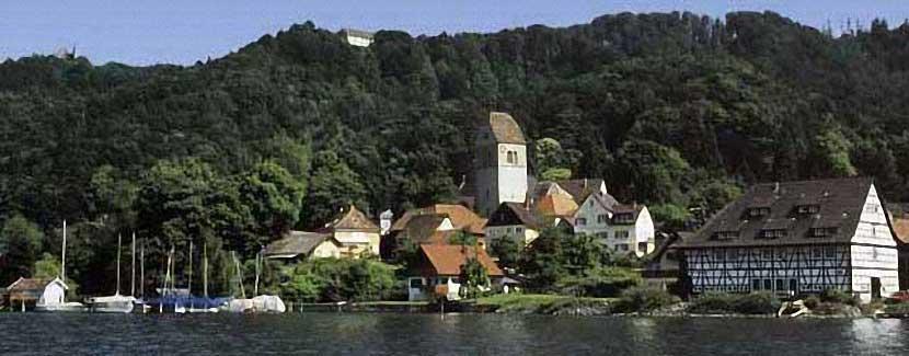 Foto: Gunter Schwarz – Blick von Ludwigshafen auf Bodman