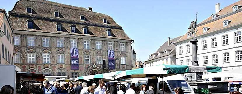 Foto: Lindauer Marktplatz mit