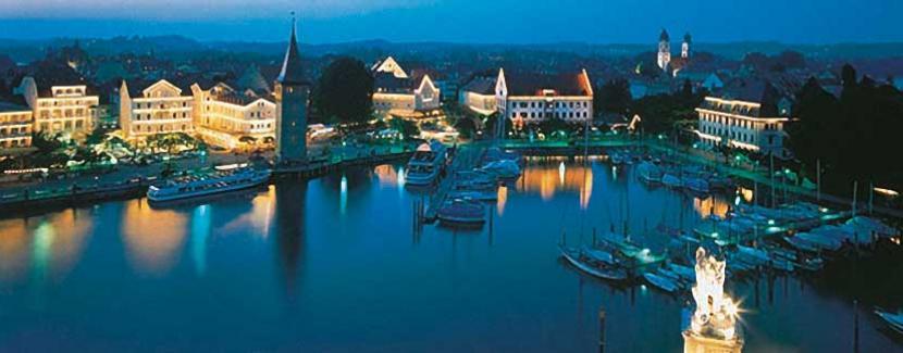 Foto: Lindau Tourismus und Kongress GmbH - Blick über den Lindauer Hafen