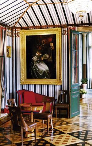 Foto: Napoleonmuseum Schloss Arenenberg - Salon