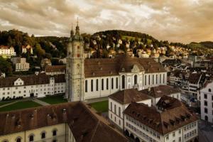 Stiftsbezirk St.Gallen, Kathedrale, UNESCO
