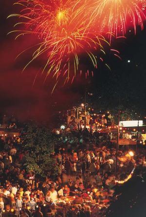 Foto: Gemeinde Salem – Feuerwerk Schlossseefest