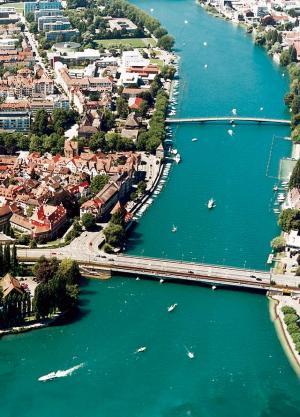 Foto: Tourist Information Konstanz – Blick auf den Seerhein