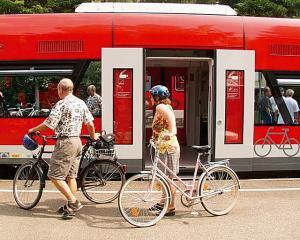 Foto: H. Walter – Fahrradtransport im »Seehäsele« (Friedrichshafen – Radolfzell)