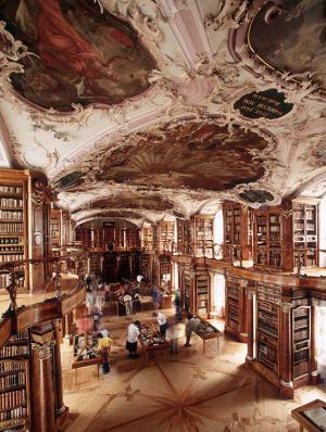 St. Gallen-Bodensee Tourismus – Stiftsbibliothek