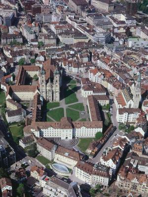 St. Gallen-Bodensee Tourismus – Altstadt mit Kathedrale